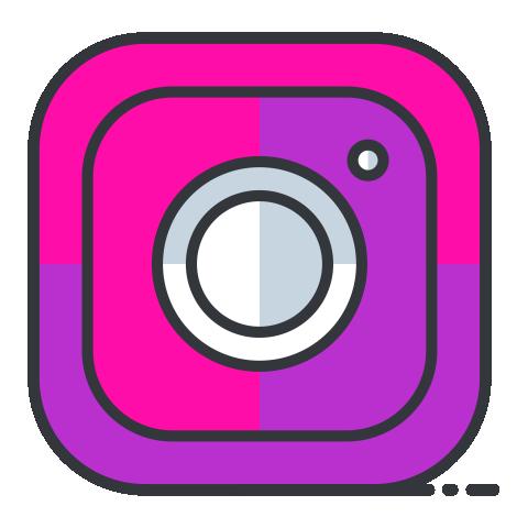 Pink Instagram Logo Png Png 603 Free Png Images Starpng